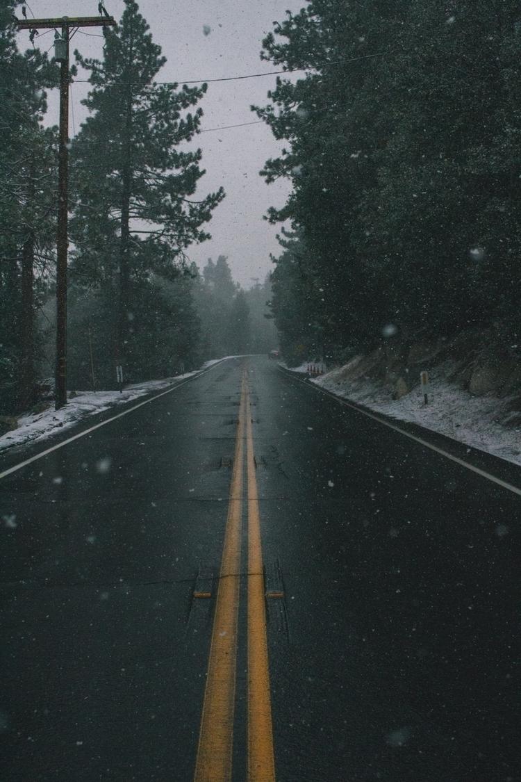 Snowy roads - photography, outdoors - alexlammb | ello