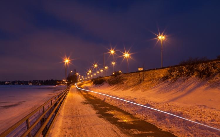 Follow line - photography, landscape - anttitassberg | ello