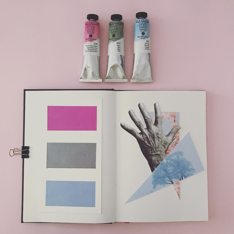 Artistbook page 2 - Collage, Analogue - marianabastoscollage | ello