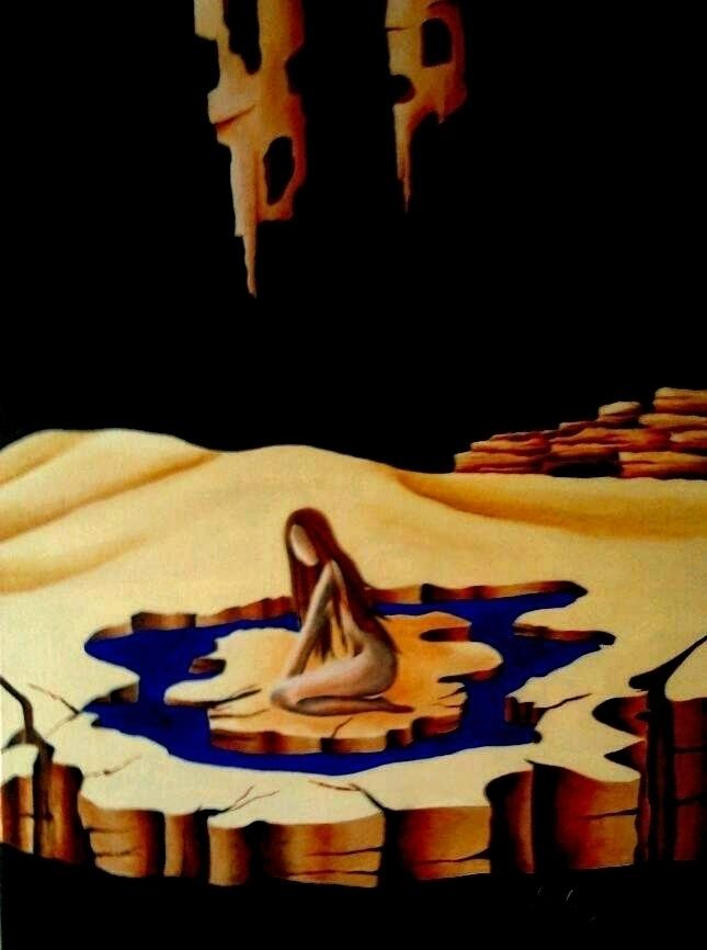 Helplessness - Oil canvas 47 67 - lauragreco | ello
