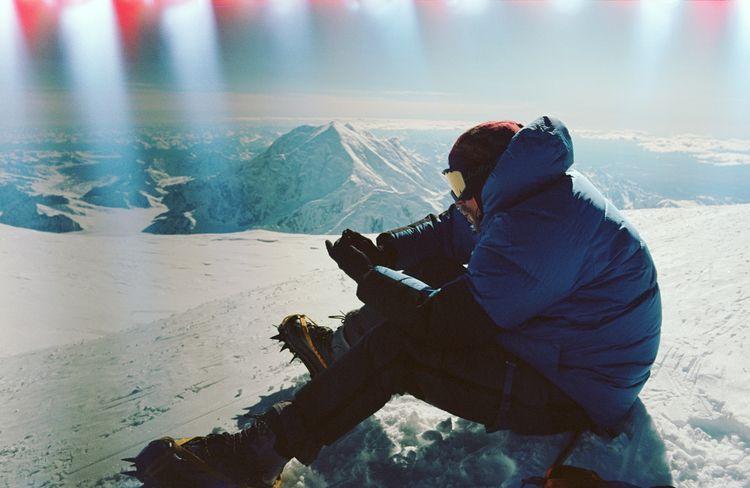 rest West Buttress 19,000 feet - jamesbarkman | ello