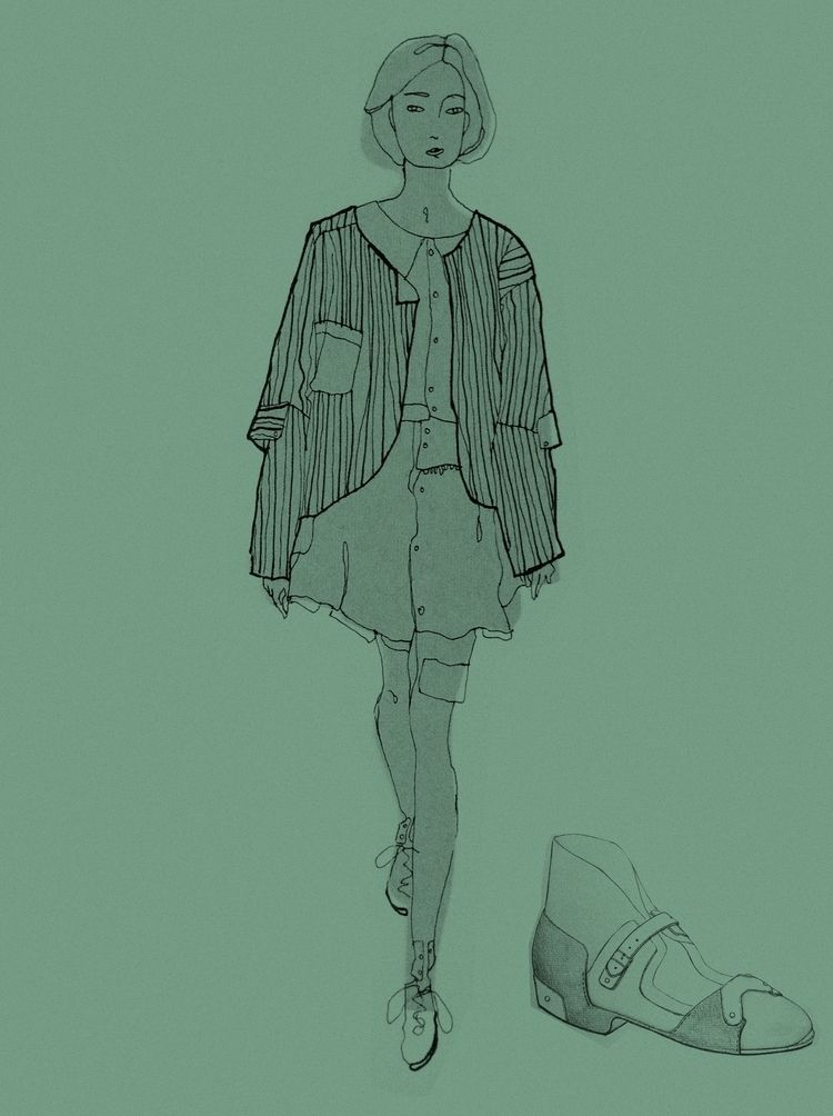 TBT, fashion, school, drawing - lisa-asil | ello