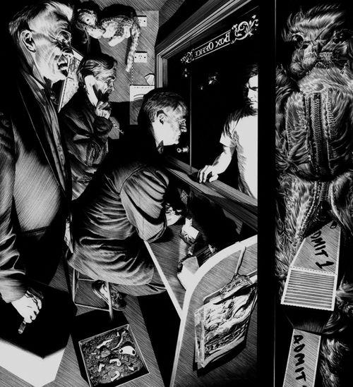 Amazing drawings Hobart based a - nettculture | ello