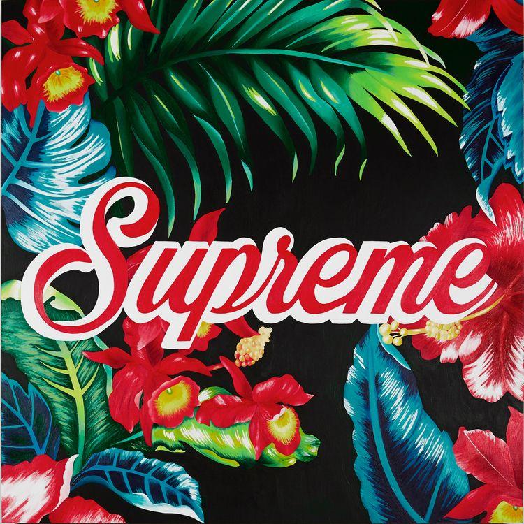 Supreme, 30 30, acrylic wood pa - thecarmenlips | ello