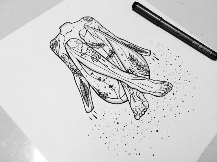 Cassiopeia - illustration, draw - wolfmumma | ello