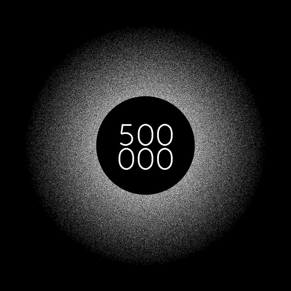 500k views number! love  - jeromebizien   ello
