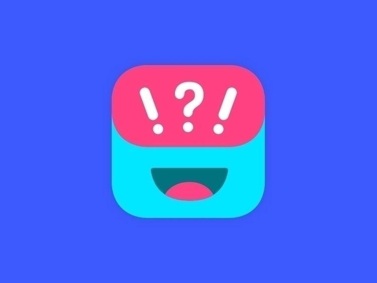 Final version GuessUp app icon - cosmicode | ello