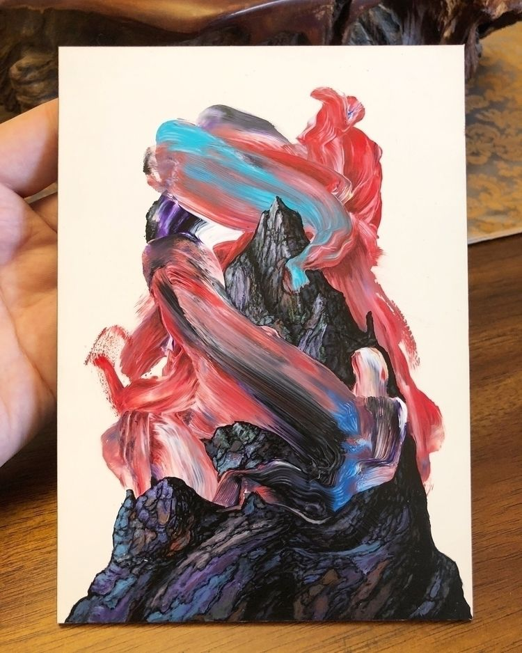 """Finished 5x7"""" piece. Sold - anthonyhurd   ello"""