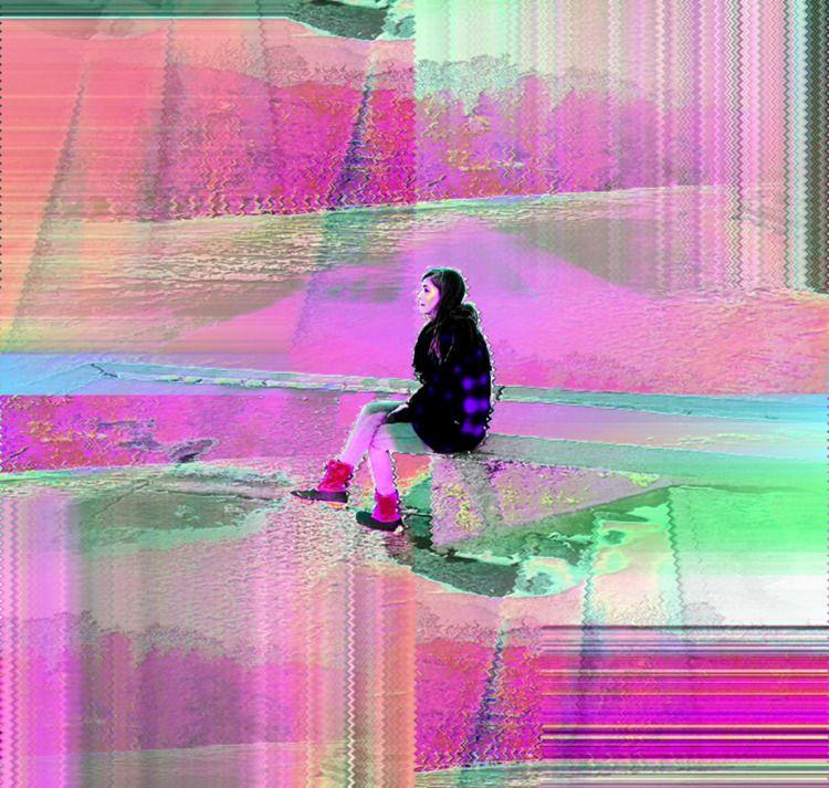 glitch, glitchart, databending - thatssoglitch | ello