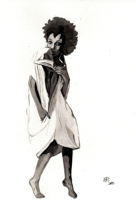 amateur illustrator, strong bel - nataliadamiao | ello