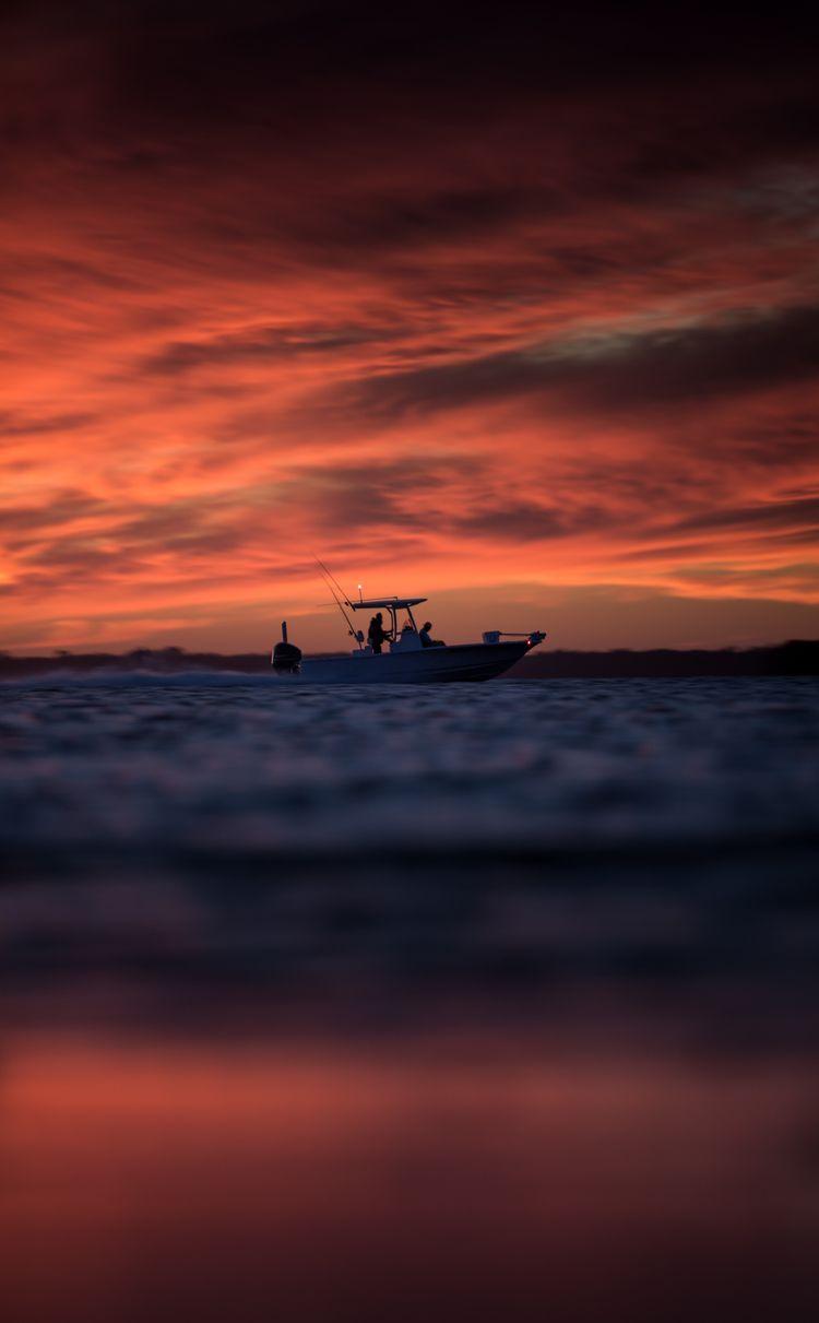 vivid  - florida, sunset, fishing - simeonpratt | ello