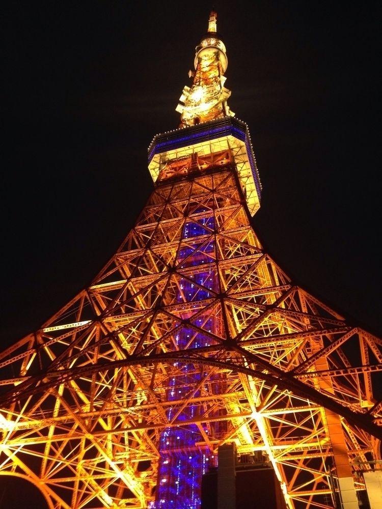 Summer evening Tokyo tower - tokyotower - kymera | ello