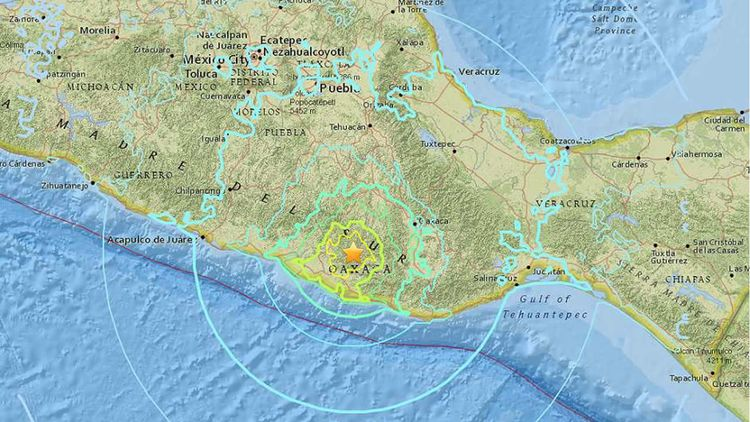 Fuerte terremoto de escala 7.2  - codigooculto | ello