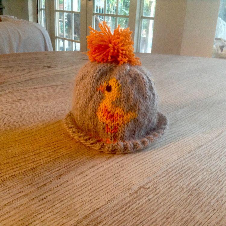 Handknit hat ducks. 14 circumfe - valentinacano | ello