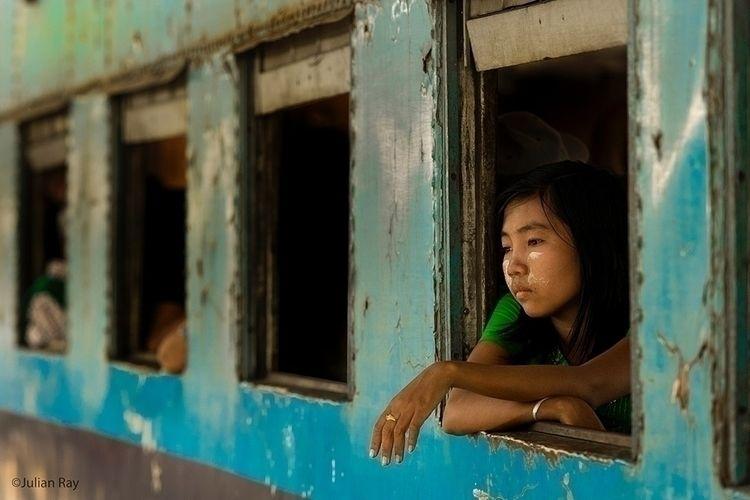 Lost thought train trip Mandala - julianrayphotography | ello