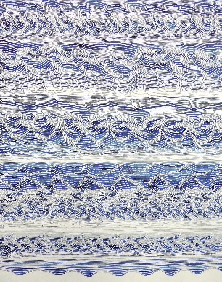 watercolor paper. 65 50 cm - liviagnos | ello