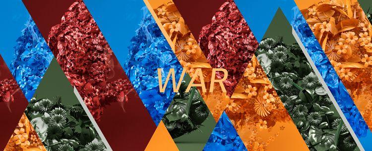 WAR Flowers NastPlas GAS MASK - nastplas - nastplas | ello
