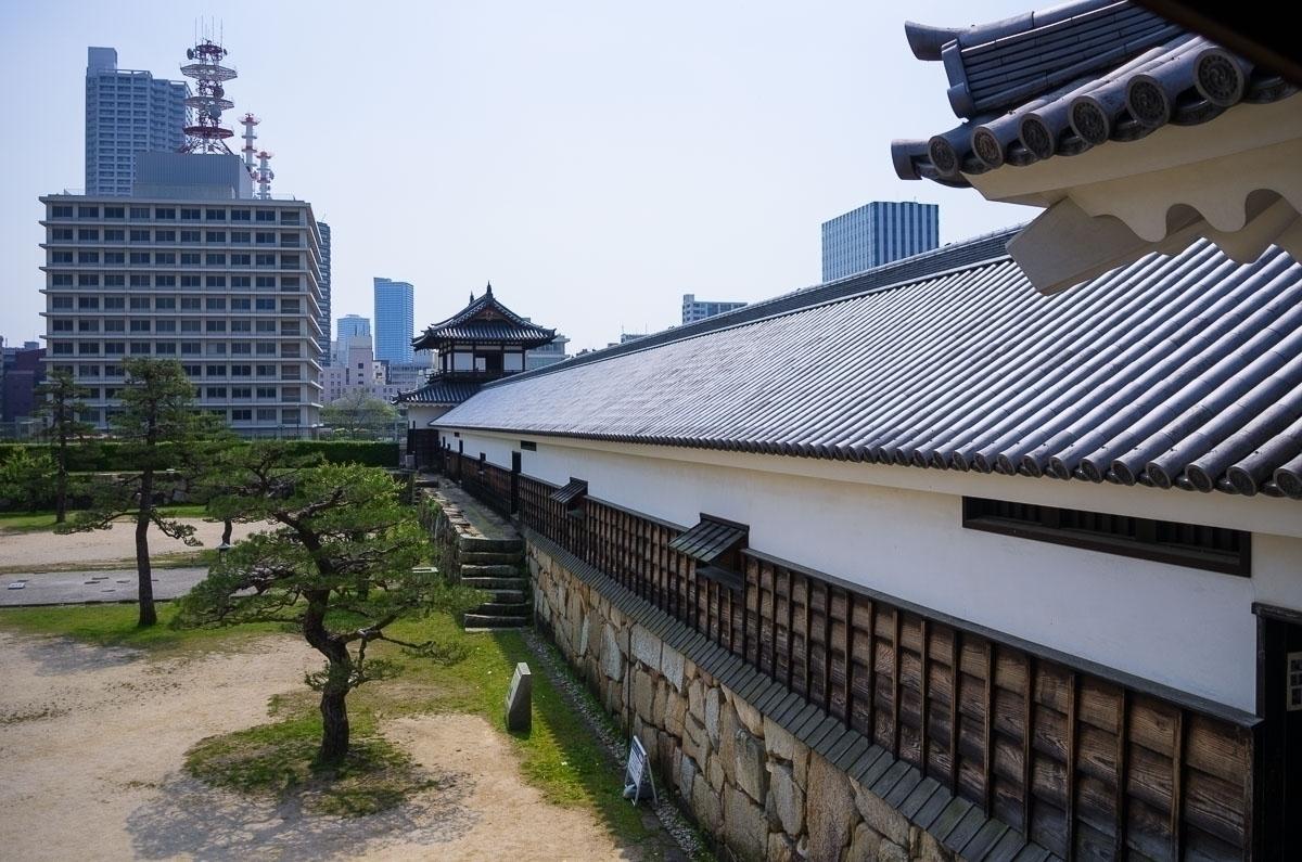 Hiroshima Castle. Castle today - pentaxke   ello