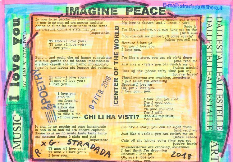 Art dreamworlds Mail Call Giova - papiergedanken-collage-art | ello