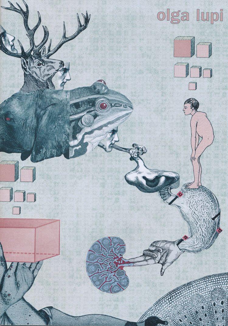 wonderful zine Olga Lupi! works - papiergedanken-collage-art   ello