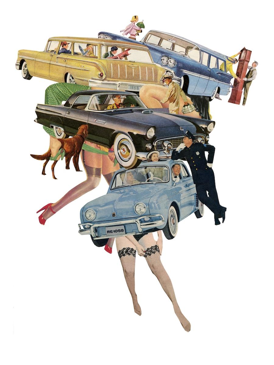 oil cars, drag horses riding Pi - danielletcole | ello