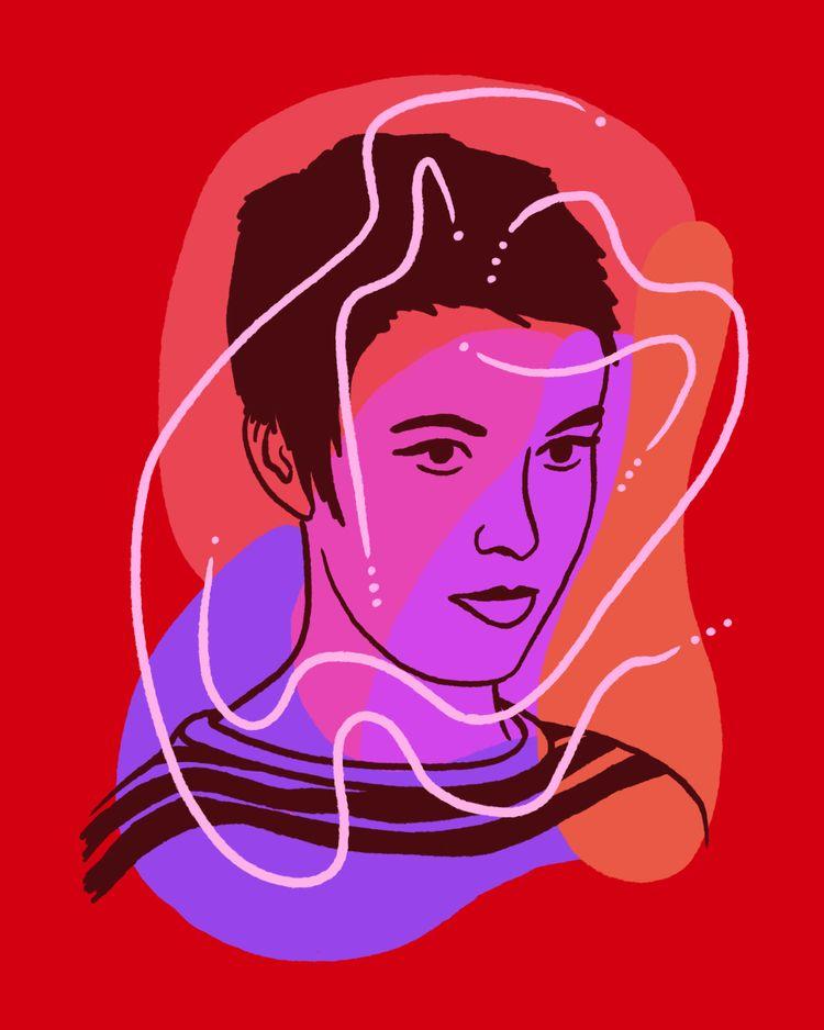 Jean - illustration, illustrator - heybop | ello