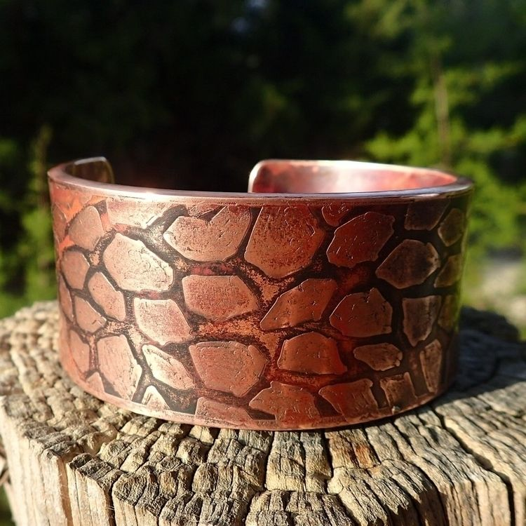 copper, bracelet, cuff, cuffbracelet - shawn_from_tx | ello