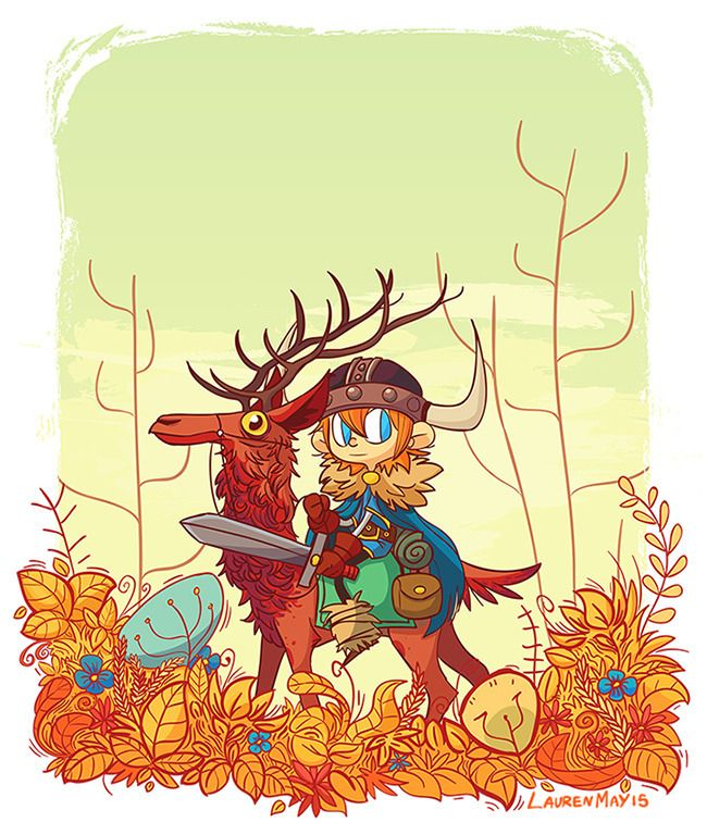 Lars undergrowth - illustration - laurenmayart | ello