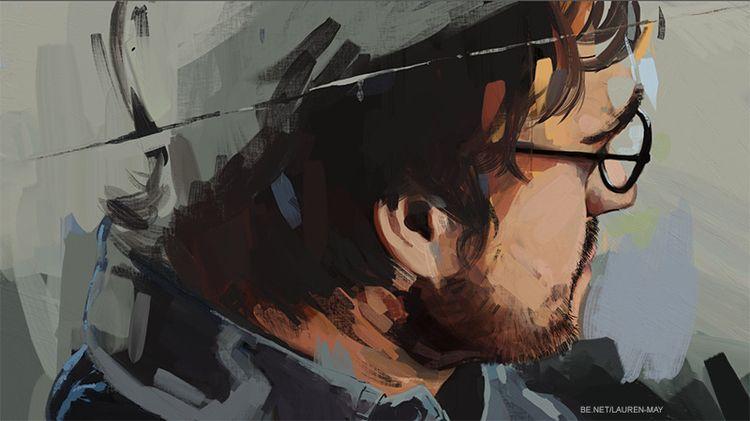 Unfinished - painting, digital, portraiture - laurenmayart   ello