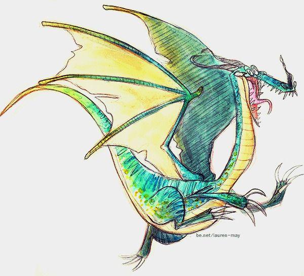 Dragon - characterdesign, illustration - laurenmayart   ello