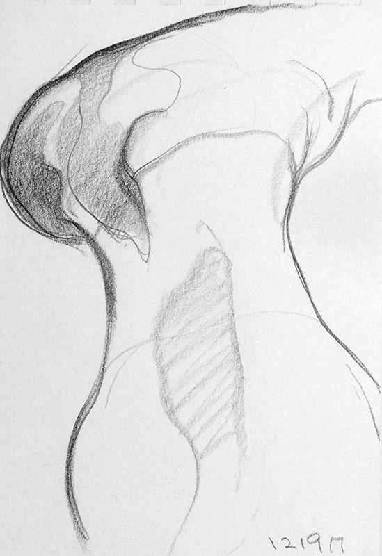 sketch, figurative, pencil - mlui   ello