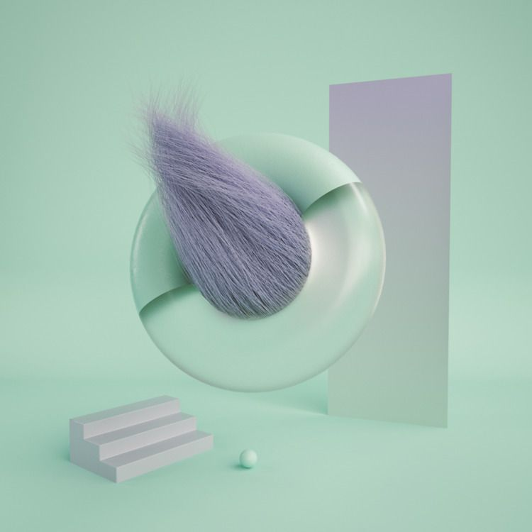 Polarized - Cinema4D, 3D, Illustration - movki | ello