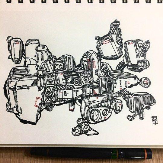 Morning ink - aaronkraten | ello