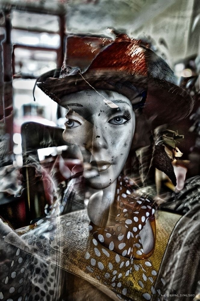 Mannequin,#Hat,#PolkaDots,#NikonD3,#Abstract,#PhotoShop - b-still | ello