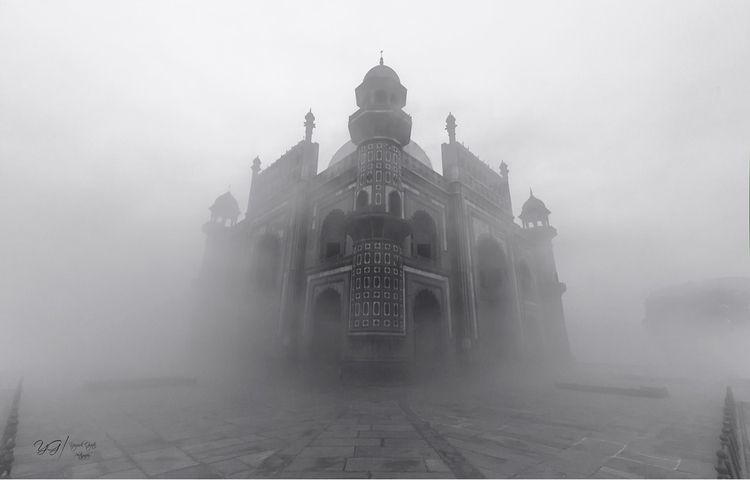 safdarjungtomb, monument, fog - ygphotography | ello