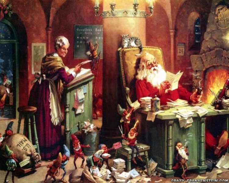 Day Santa Mama Claus. day plays - pasitheaanimalibera | ello