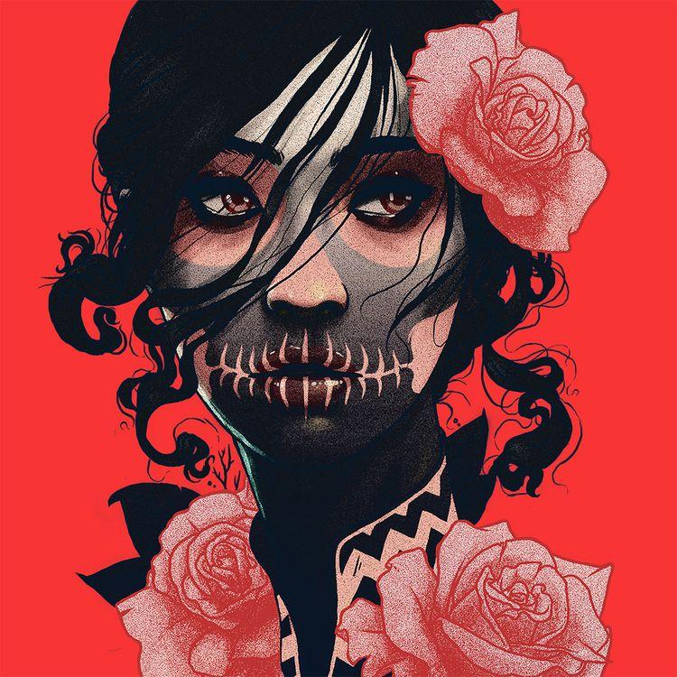 Rosas IV Cesar Canseco - artwxrk - artwxrk | ello