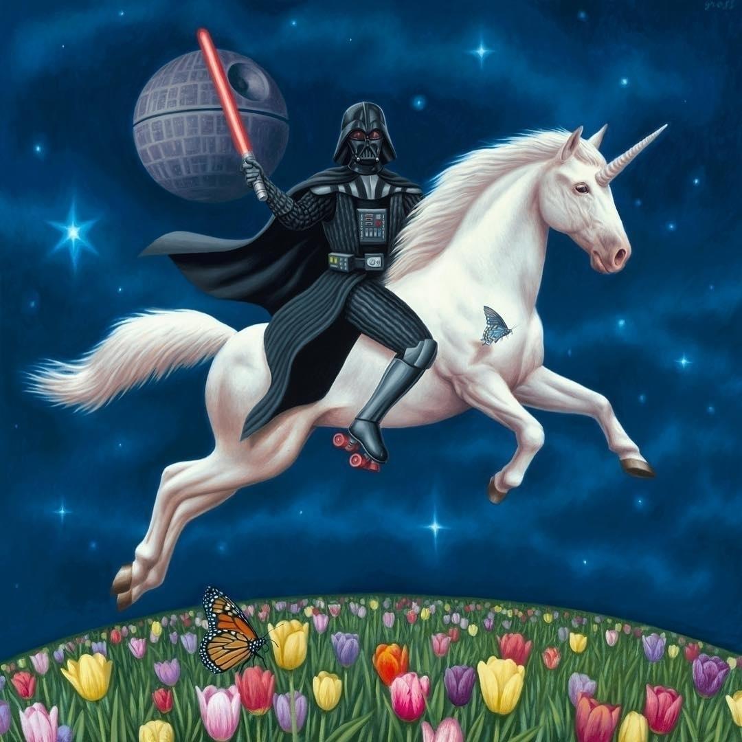 DV Unicorn Alex Gross - artwxrk - artwxrk | ello