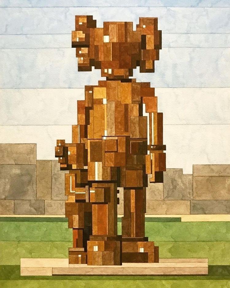 KAWS Adam Lister - artwxrk - artwxrk | ello