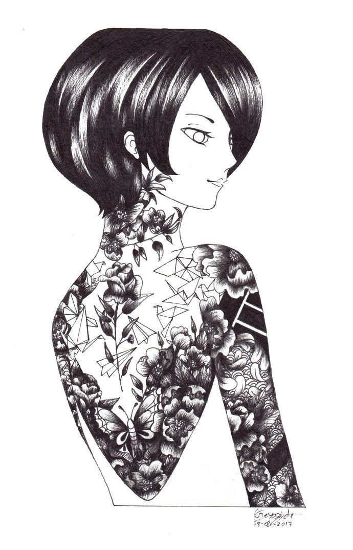 manga, drawing, traditionalart - ladypocketwatch | ello