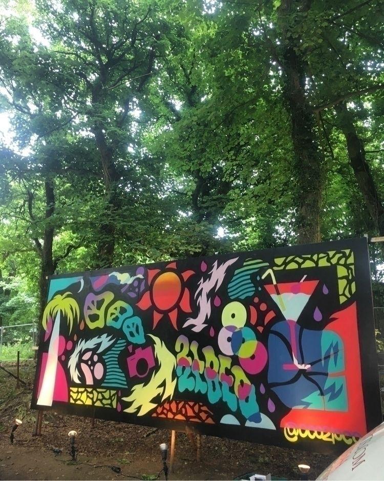 wall Gottwood festival, Wales,  - jackcannon | ello