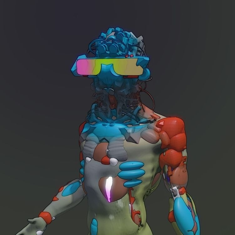 art 3d rift sculpting sculpt - cg - rv-lalo | ello
