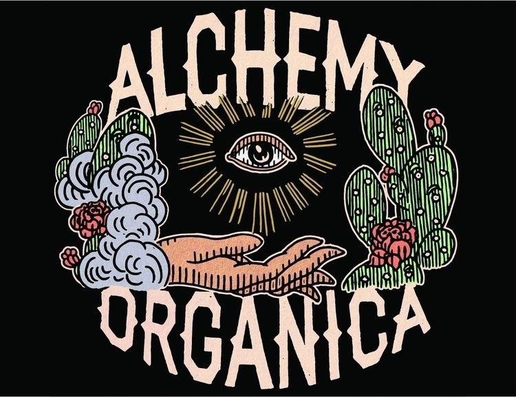 Alchemy Organica Logo, 2017--Cu - amyortizart | ello