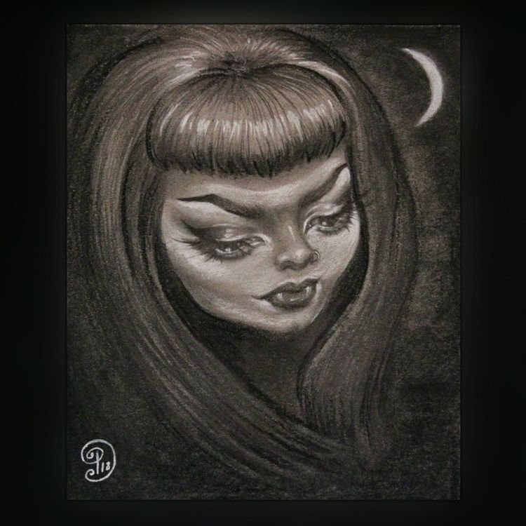Nocturne Love Night Graphite, c - mywickedeyes | ello