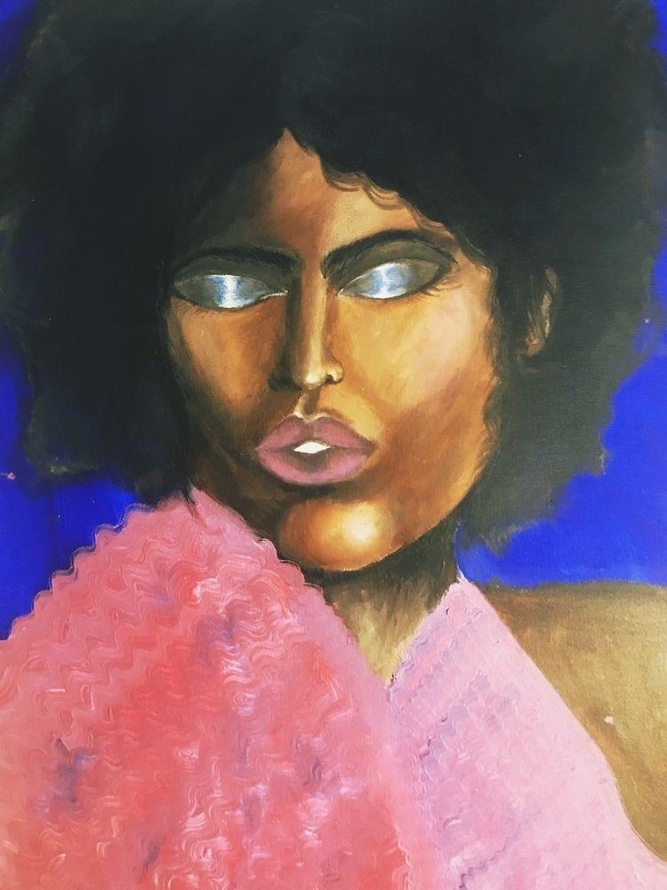 unfinished - acrylic, afro, disco - vp-art | ello