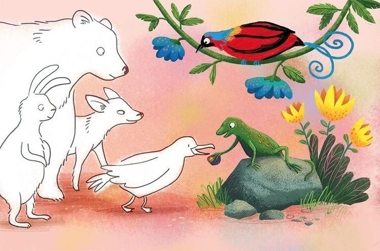 short story magazine toddlers - illustration - puikeprent | ello