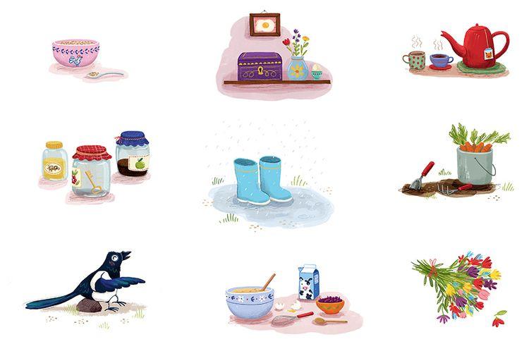 vignettes picturebook - childrensbook - puikeprent | ello