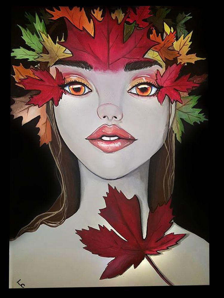 Autumn Queen - lizzywhothefunkc | ello