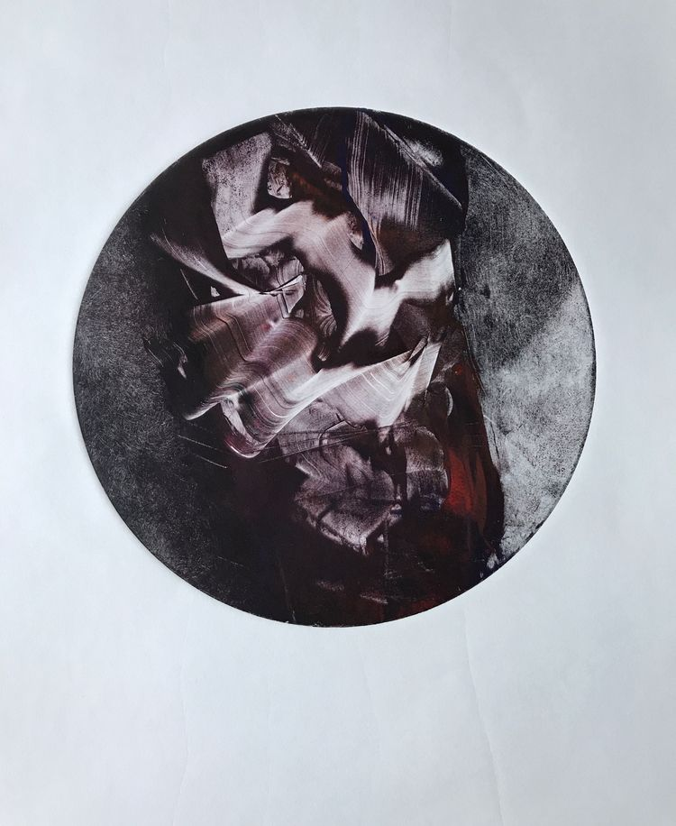 2 Earth Series Ink wiped Monopr - awingding   ello