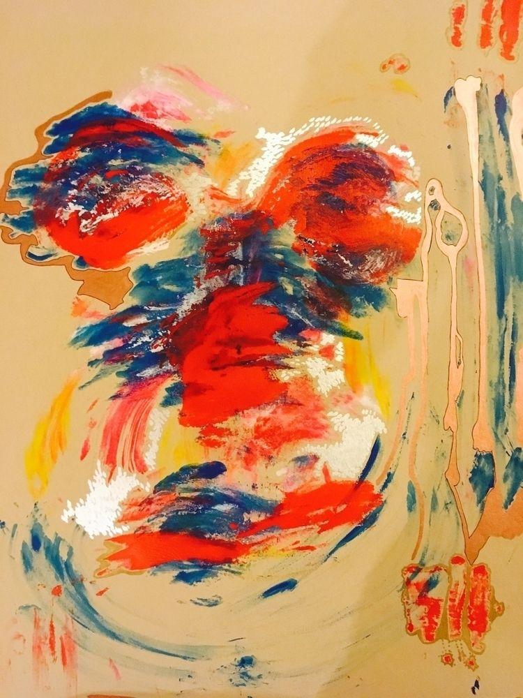 bodyprint, bodypaint, painting - elekz | ello